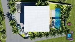 plan de masse 3d - residence Nouvelle-Calédonie