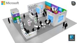 concept de stand - stand Microsoft