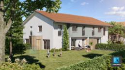 image 3d immobilier résidentiel - Haute-Savoie - Région Auvergne-Rhône-Alpes