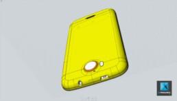 modélisation 3d smartphone CAO
