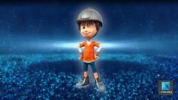 personnage 3d enfant - garçon