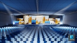 perspective d'ambiance évènementielle forum GCF2014