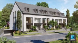 rendu 3d immobilier residence Luxembourg