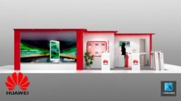 stand téléphonie smartphones Huawei