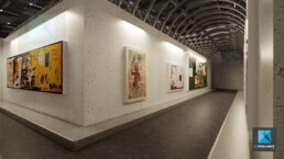 dessin 3d galerie art contemporain