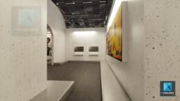 image 3d galerie art contemporain