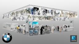 designer stand freelance BMW