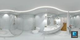 image 3d VR salle de bain