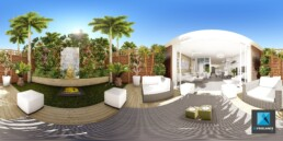 image 3D VR villa