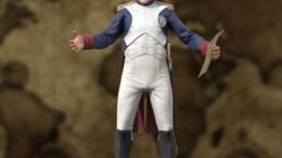 personnage 3d napoléon - image 3d napoléon