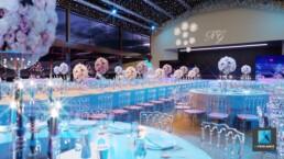 perspective 3d mariage - pavillon Gabriel