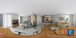séjour appartement VR 360
