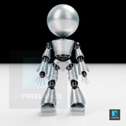 illustration 3D robot