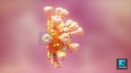 illustration coronavirus