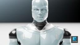 image 3D robot - freelance graphiste