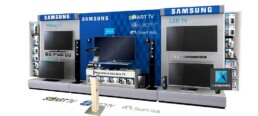 linéaire produit Samsung image 3d