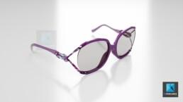 modélisation 3d de lunettes