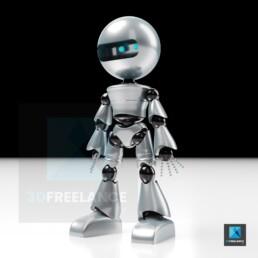 modélisation 3D robot
