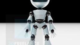 personnage 3D robot