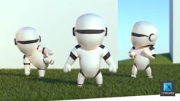 petit robot 3D