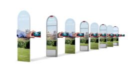 PLV sfr portiques de sécurité - image 3d