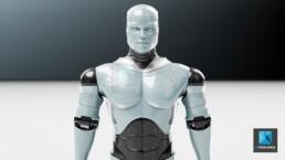 rendu 3d robot - modélisation