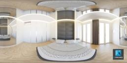 visualisation 3D 360 degrés d'un appartement