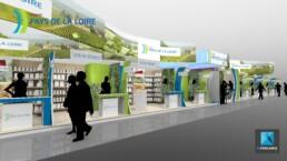 concepteur pavillon stand salon de l'agriculture