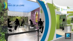 designer stand pavillon salon agriculture