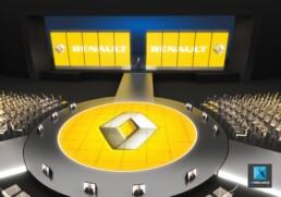 dessin 3d événementiel convention d'entreprise