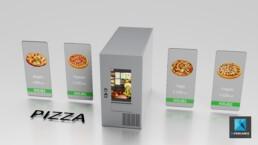 distributeur automatique rendu 3d