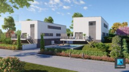 dessin 3d residence architecture Mulhouse