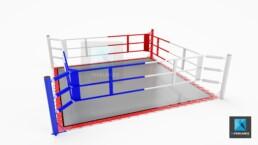image 3d ring de boxe