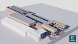 plan 3d espace automobile garage entretien de véhicules