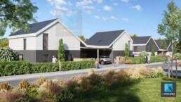visuel 3d immobilier Normandie lotissement