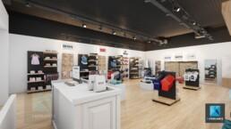 designer magasin de vêtements freelance