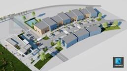 plan 3d village entreprises modélisation freelance