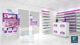 modélisation 3d pharmacie