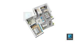 plan 3d architecture Rhône-Alpes freelance 3d