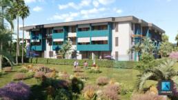 image 3d résidence Guyane française