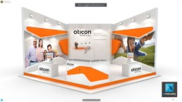 stand 3d interactif web gl